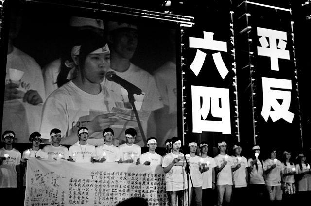 香港人要求中共平反1989爭民主運動 追究六四天安門大屠殺 People of Hong Kong Ask China Vindicates Tiananmen Square Democratic Movements and Demanding Justice for 1989 June 3rd 4th Massacre in Beijing